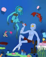 Acure and pepper under the sea by SugarNspices