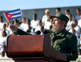 Fidel Speaking by CubanKomrade