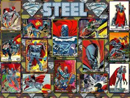 Steel - The Return Of Superman SkyBox Card WP by Superman8193