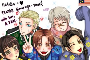 Hetalia: HUG PROJECT by allyoucaneater
