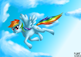 DAINBOW RASH IS 20% THE GOOD!! by Dragonfunk7
