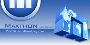 maxthon-dock icons by mustafahaydar
