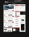 Gaming webdesign project by victorrk