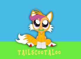Tailscootaloo by LightDegel