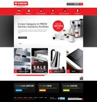FRESH Egypt Appliance -  Home Page by MaiEltouny