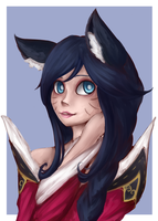 NewDawn Ahri by A-Psycho-Banana