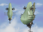 Aerial destroyer  Panola Manola by Waffle0708