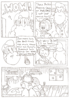 Megaman Comic by FritzyBeat