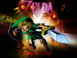 Majora's Mask Wallpaper by Mexican51
