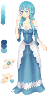 Commission OC - Crystal by Infogirl101