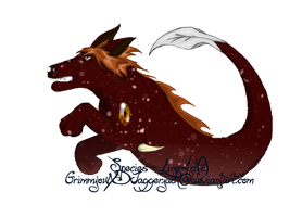 Leorain hatchling for Rogue-wolfwarrior by GrimmXD-Adopts