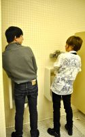 NowakixHiroki Men's urinal by blondewolf2