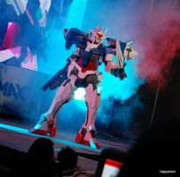 00 Gundam - on the Stage by Clivelee