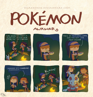 Pokemon Awkward: Mummeat by DarkKenjie