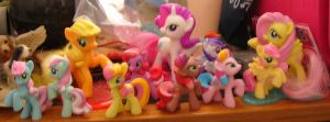 my many little ponies by electricjesuscorpse