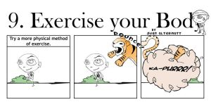 DIY - 9. Exercise your Body by svengence