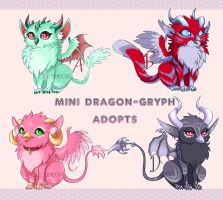 Mini Dragon-Gryph Adopts! (CLOSED) by Blackraven-Adopts