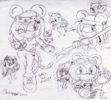 gaby the mouse...Project by Ferni21