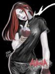 Vampire girl Alaina by LILFIEinaBOX
