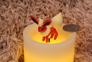 #136 Flareon by AnnalaFlame