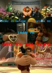 WRECK IT RALPH   YOU'RE MY HERO by TheLegacyofRomR