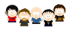 Radiohead South Park by Idiotequo