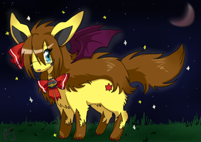 Pokesona of teh nite-Kurumia by FENNEKlNS