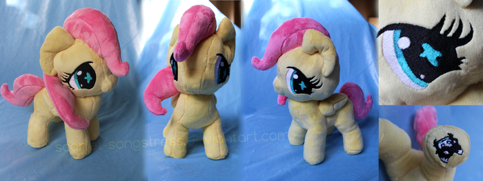 Trade: Sweet Filly Fluttershy by Scarlet-Songstress