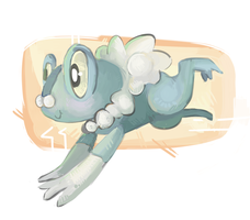 Froakie by Kiytt