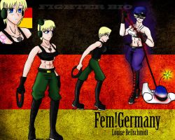 Fem!Germany fighting-bio by Humblehistorian