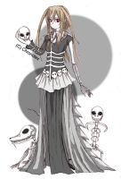 BATIC: Skeleton Countess by Chronolex