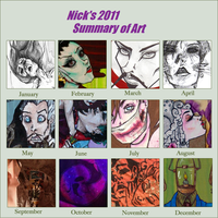 2011 Summary in art by CaptainDunkenstein