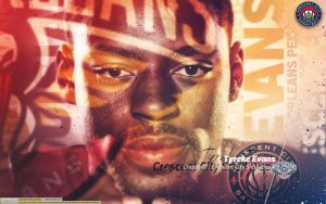 Tyreke Evans - Crescent City Shall Rise by D-Ejkiewicz