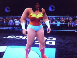 Wonder Woman tombstone piledrives Superman part 8 by fzero64