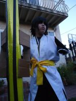 Armless! Soi fon with bankai 3 by AmandaPanda18