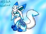 Mega Glaceon by FoxMew4044