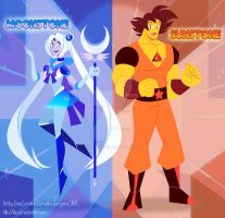 Moonstone and Sunstone by GND-KicaCris
