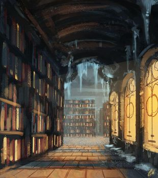 Icy Library by Chris-Karbach