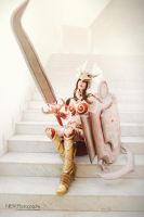 League of Legends Valkyrie Leona by KawaiiTine
