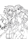 collab2-'lineart' by Toriichi