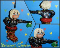 Calhoun christmas Ornament by disneykittyart