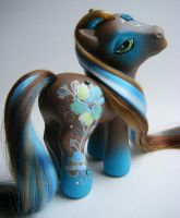 My Little Pony OOAK Taffeta by eponyart