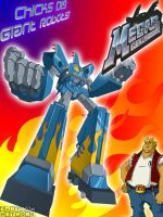 Megas XLR Custom Poster by whiskers500