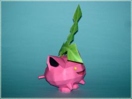 Hoppip Papercraft by Skele-kitty