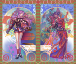 utena and anthy by smallllotty