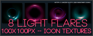 Light Flares Pack 5 by silklungs