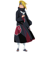 Deidara render 2 by vdb1000