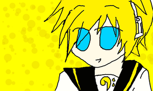 Request: Len Kagamine by Hetaoni00