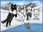 Hunting: How dare you escape, seal?! by Neroholic