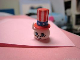 APH: U.S. Mochi with a hat by love2say-duh